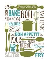 Culinary Love 1 (color) Fine Art Print