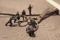 Army Scissors Fine Art Print