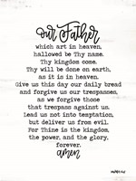 Lord's Prayer Fine Art Print