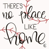 No Place Like Home Plate Fine Art Print