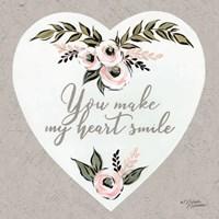 You Make My Heart Smile Fine Art Print