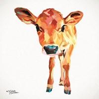 Cute Little Calf Fine Art Print