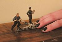 Army Manicure Fine Art Print