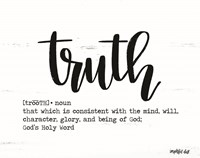Truth Fine Art Print