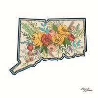 Floral Connecticut Fine Art Print