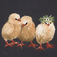 Chick Trio Fine Art Print