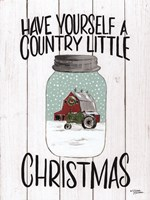 Have Yourself a Country Little Christmas Fine Art Print