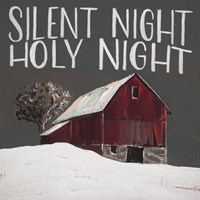 Silent Night Holy Night Fine Art Print