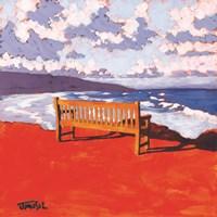 Sea Bench Fine Art Print