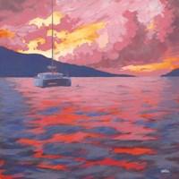 Safe at Anchor Fine Art Print