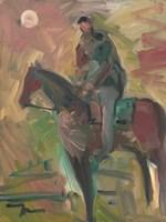 Desert Horseman Fine Art Print