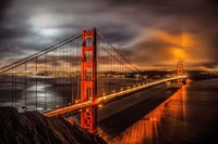 Golden Gate Evening Fine Art Print
