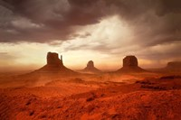 Monsoon Sandstorm Fine Art Print