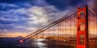 N. Tower Panorama - GG Bridge Fine Art Print