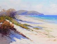 Port Stephans Beach Sands Fine Art Print