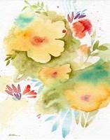 Fiesta Flowers Fine Art Print