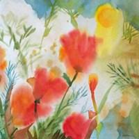 Orange Poppy Reverie Fine Art Print