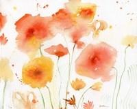Orange Yellow Fine Art Print