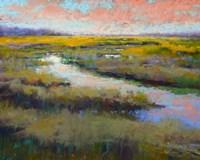 A Glimmer on the Marsh Fine Art Print