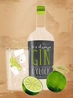 Gin O'Clock Fine Art Print
