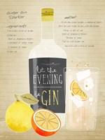 Ginger Gin Sparkler Fine Art Print