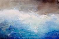 Ombre Blue Fine Art Print