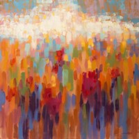 Poppy Mosaic Fine Art Print