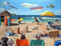 Dog Beach Fine Art Print