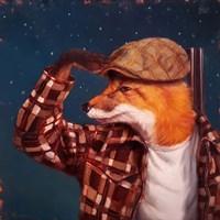 Fox Hunt Fine Art Print