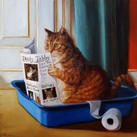 Kitty Throne Fine Art Print