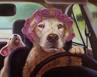 Mommy Chauffeur Fine Art Print