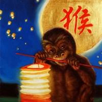 Monkeyshine Fine Art Print