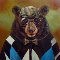 Papa Bear Fine Art Print