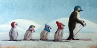 Ski School Fine Art Print