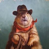 Underground Cowboy Fine Art Print