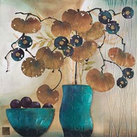 Raku Bowl and Vase Fine Art Print