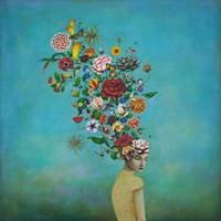A Mindful Garden Fine Art Print