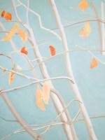 Trees with Orange Leaves Fine Art Print