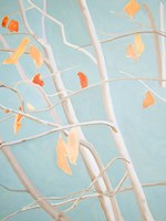 Trees with Orange Leaves Fine Art Print