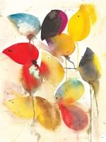 Leaves Falling I Fine Art Print