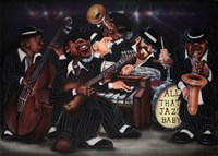 All That Jazz, Baby! Fine Art Print