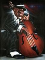 Jazzman D Framed Print