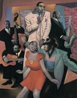 Club Zanzibar Fine Art Print