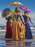 Parasols Fine Art Print