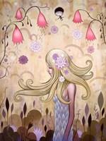 Garden of Sleeping Flowers II Fine Art Print