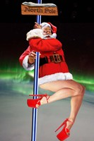 North Pole Dancer Fine Art Print