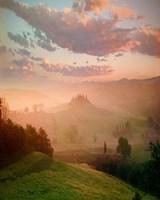 Villa, Toscana Fine Art Print