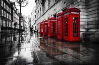 London Phones Fine Art Print