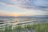 Lake Michigan Sunset III Fine Art Print