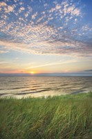 Lake Michigan Sunset I Fine Art Print